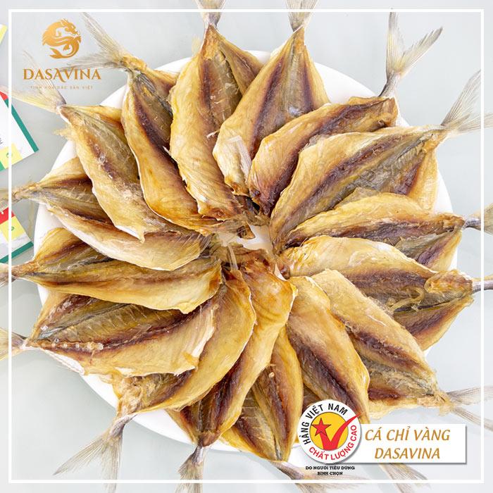 Cá chỉ vàng khô Dasavina